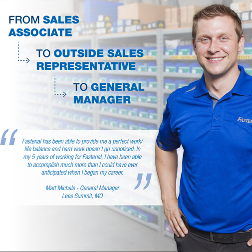 Advancement Opportunities at Fastenal